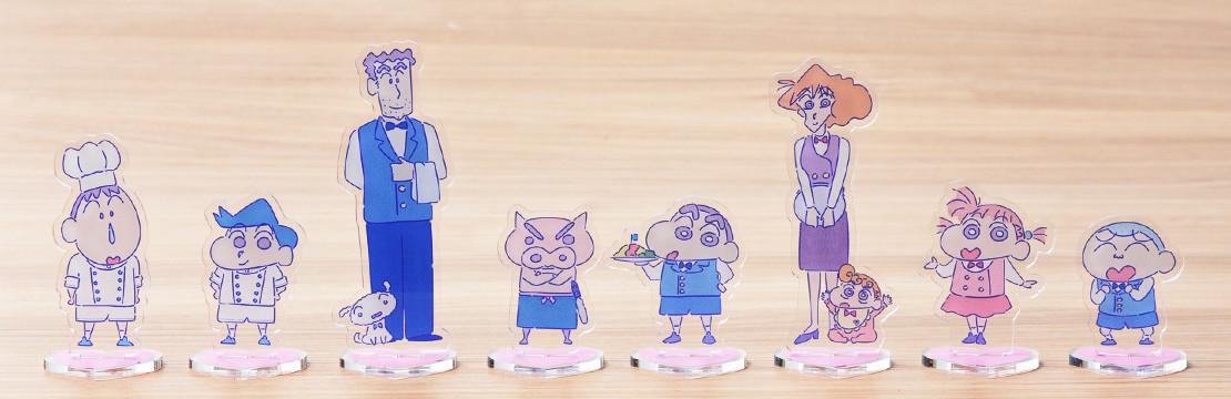 2.5次元フィギュア クレヨンしんちゃん25thコレクション 歴代映画しんちゃん